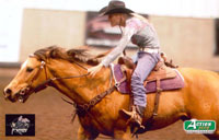 Krisitin Weaver_Brown barrel racer